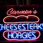 Carmens Cheesesteaks Art Print