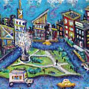 Carmine Street Art Print