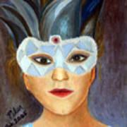 Carnaval Art Print by Pilar  Martinez-Byrne