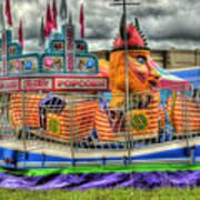 Carnival At Crocker Park Art Print