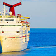 Carnival Cruise Ship Art Print
