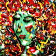 Carnival Girl Art Print