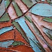 Carnival Headdress Tile Art Print
