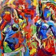 Carnival- Large Work Art Print