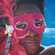 Carnival Mask 1 Art Print