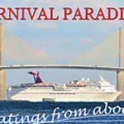 Carnival Paradise Custom Pc One Art Print
