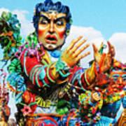 Carnivale Di Sciacca Art Print