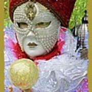 Carnivale Mask #10 Art Print