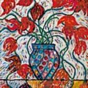 Carnivale Of Flowers Art Print