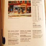 Carole Spandau Listed In  Magazin'art Biennial Guide To Canadian Artists In Galleries 2000-2001 Edit Art Print