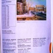 Carole Spandau Listed In Magazin'art Biennial Guide To Canadian Artists In Galleries 2002-2003 Edit Art Print