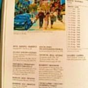 Carole Spandau Listed In Magazin'art Biennial Guide To Canadian Artists In Galleries 2006-2008 Edit Art Print