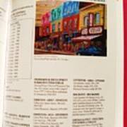 Carole Spandau Listed In Magazin'art Biennial Guide To Canadian Artists In Galleries 2009-2010 Edit Art Print