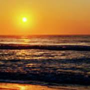 Carolina Beach Sunrise Art Print
