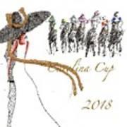 Carolina Cup  Art Print