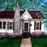 Carolina Home Art Print
