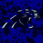 Carolina Panthers 1e Art Print