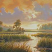 Carolina Sunrise Art Print
