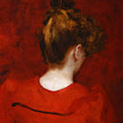 Carolus Duran Study Of Lilia Art Print