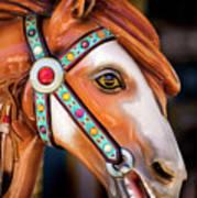 Carousal Horse Art Print