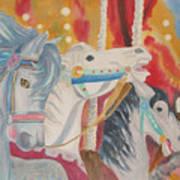 Carousel 1 Art Print