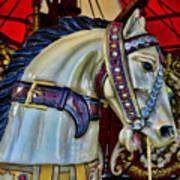 Carousel Horse - 7 Art Print