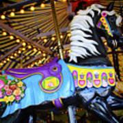 Carousel Horse 1 Art Print