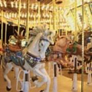 Carousel Horse 2 Art Print