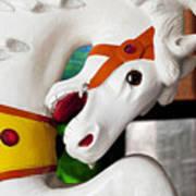 Carousel Horse 3 Art Print