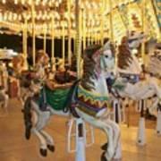 Carousel Horse 4 Art Print