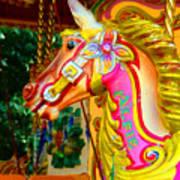 Carousel Horse London Alfie England Art Print