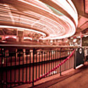 Carousel Lights #2 Art Print