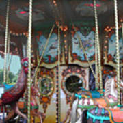 Carousel With Mirrors Art Print