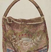 Carpet Bag Art Print