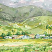 Carpinteria Salt Marsh Nature Park Art Print
