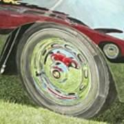 Carrera Chrome Art Print