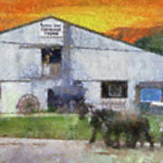 Carriage Tour Mackinac Island Upper Peninsula Michigan Pa 01 Art Print