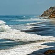 Carrillo Beach Art Print