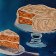 Carrot Cake Art Print