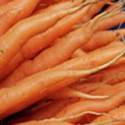 Carrot Market Bergen Art Print