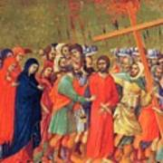 Carrying Of The Cross 1311 Art Print