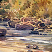 Carson River In Autumn Art Print