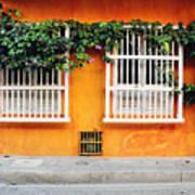 Cartagena Street Art Print