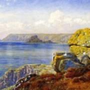 Carthillon Cliffs Art Print