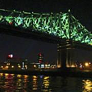 Cartier Bridge Night Art Print