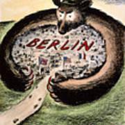 Cartoon: Cold War Berlin Art Print