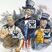 Cartoon: New Deal, 1933 Art Print