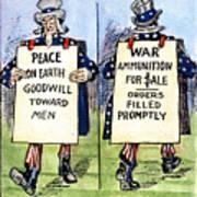 Cartoon: U.s. Neutrality Art Print