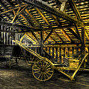 Carts Before The Horse Art Print