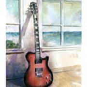 Carvin Electric Guitar Art Print